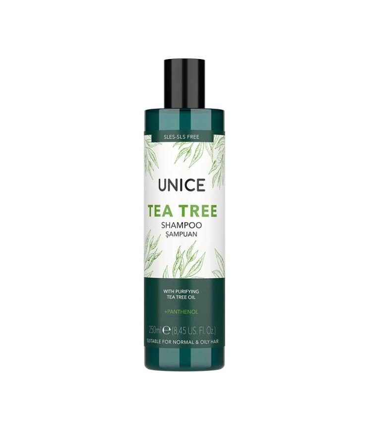 Шампунь Unice з олією чайного дерева, 250 мл