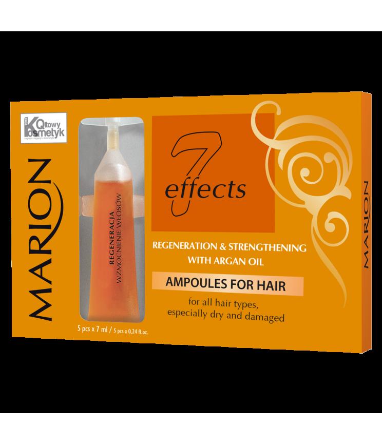 Ампули для волосся з аргановою олією, 5х7 мл