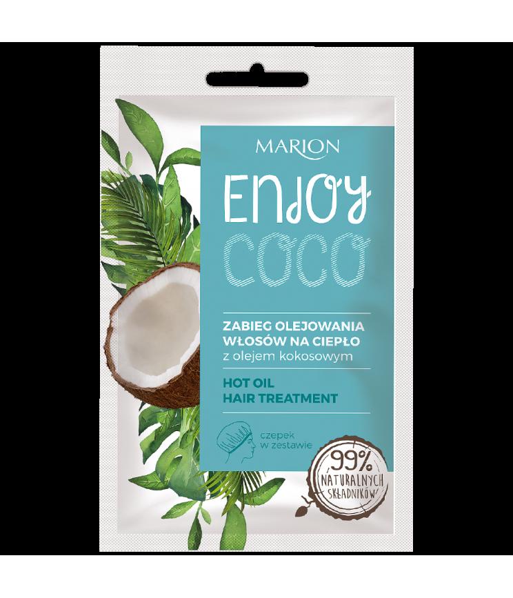 Гаряча олія для догляду за волоссям Marion, 20 мл
